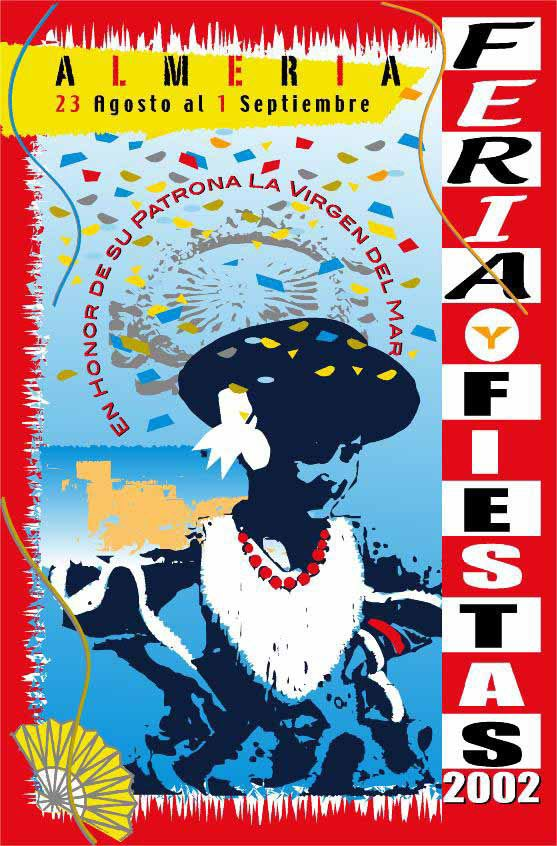 Cartel Para el concurso de la Feria 2002.