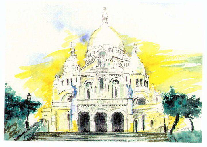 El Sagrado Corazón de París.