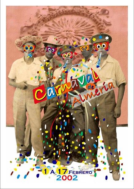 Cartel para el concurso del Carnaval.