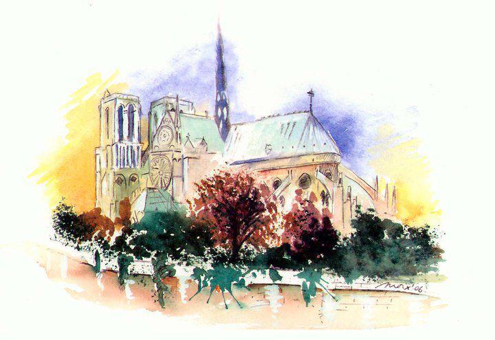 Notre Dame de París.
