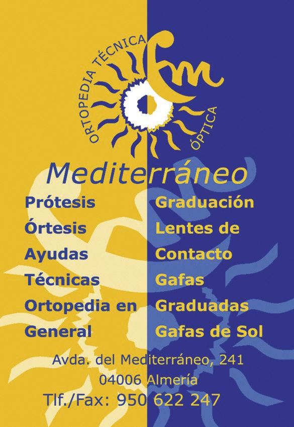 Logotipo y tarjeta de nueva creación para Ortopedia Mediterráneo.