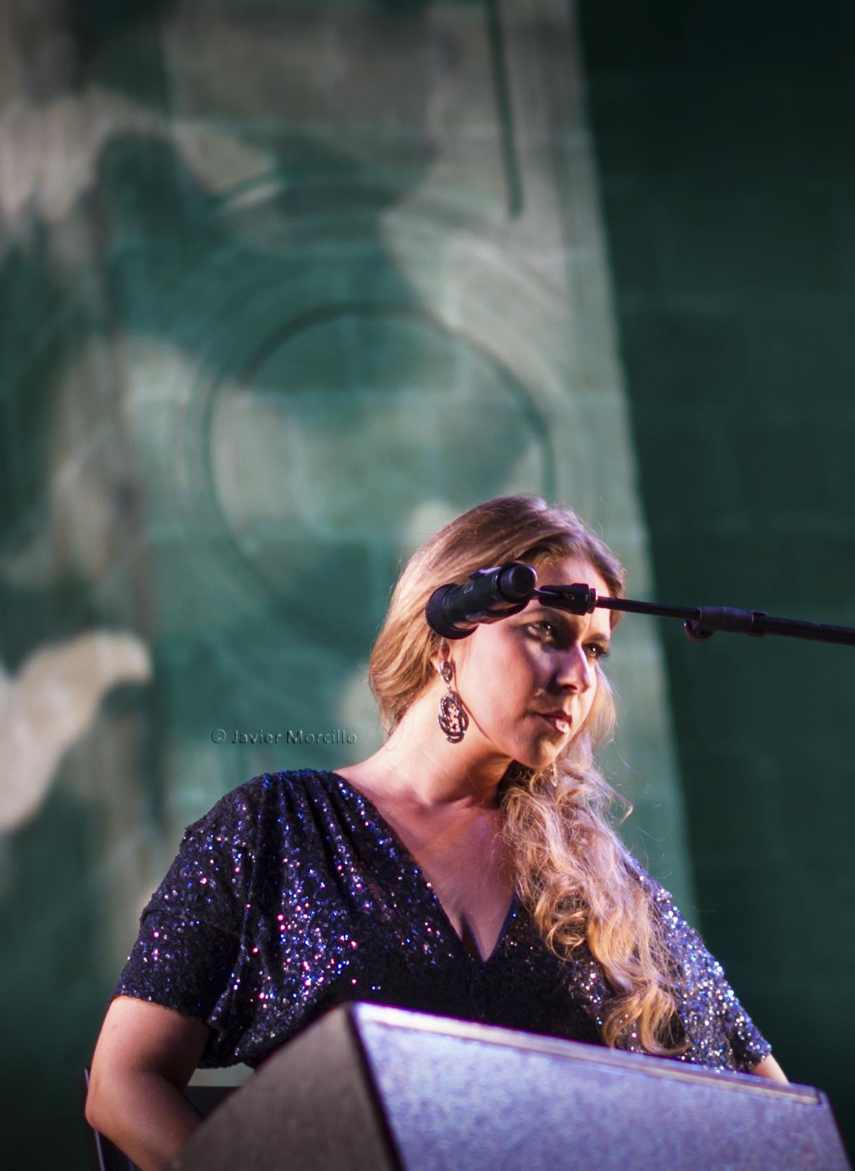 Rocío Márquez en 51 Festival de Flamenco y Danza de Almería.