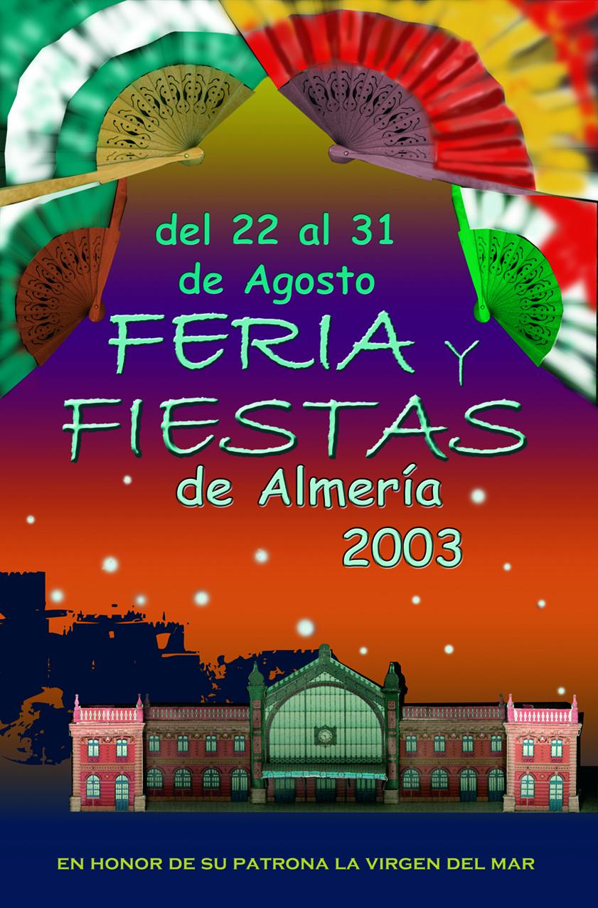 Cartel para ocncurso Feria 2003
