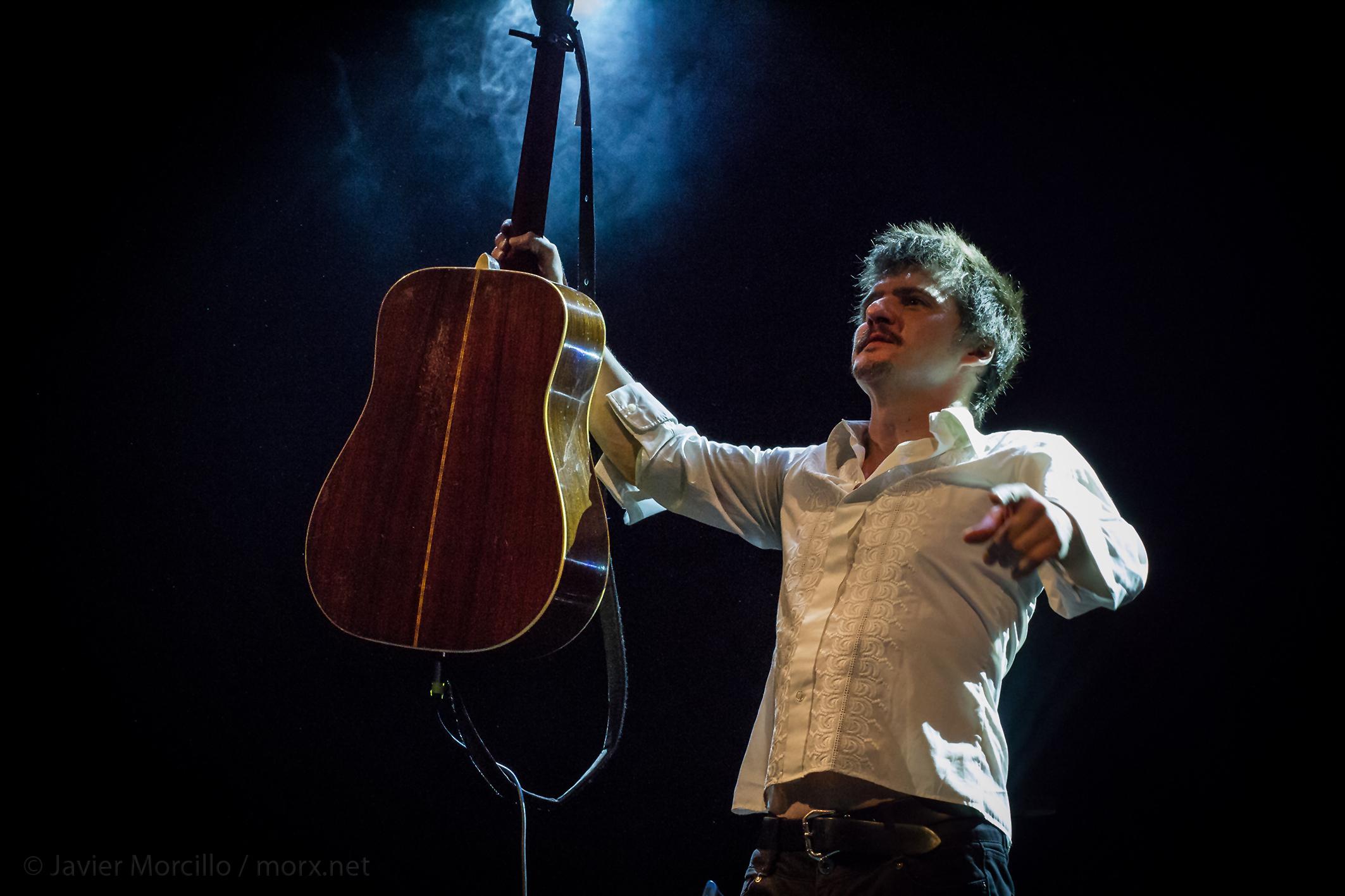 Coque Malla en el Teatro Apolo de Almería