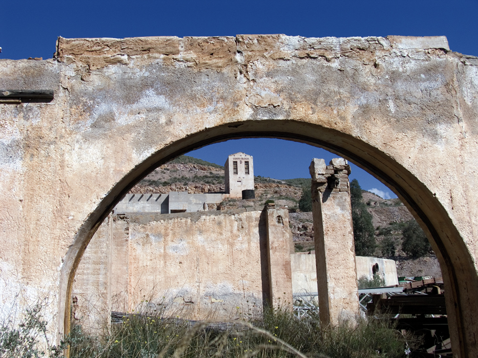 Minas de Rodalquilar, Almería.