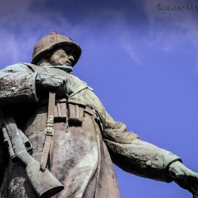 Monumento al soldado ruso en Berlín.