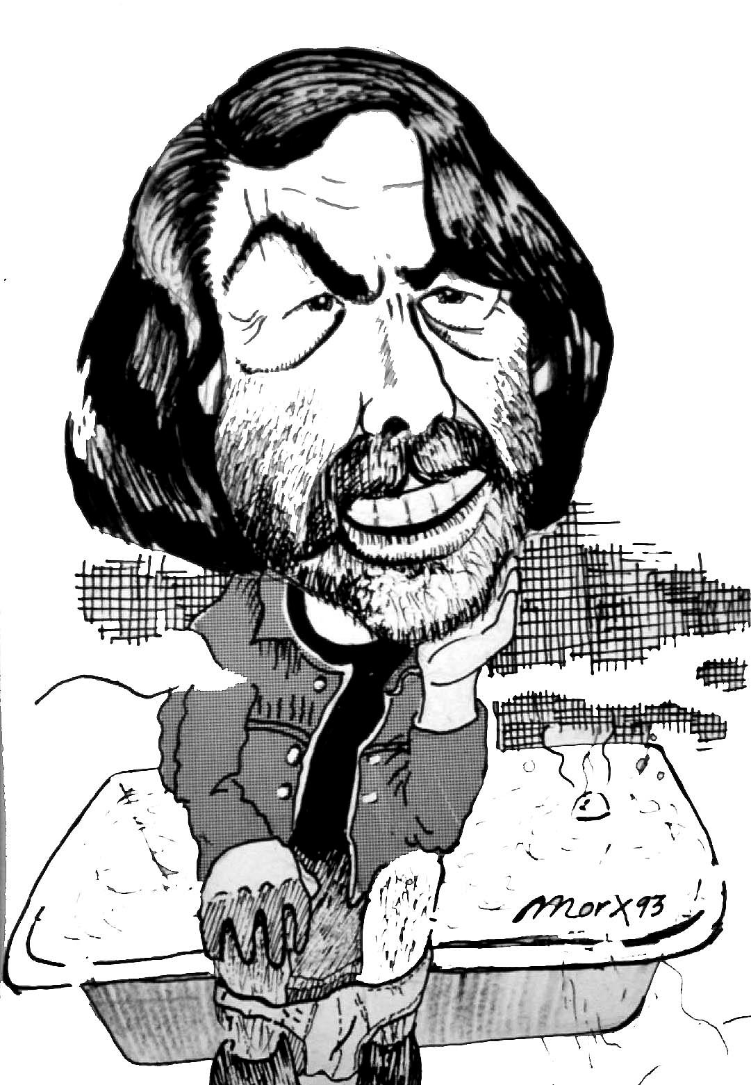 Caricatura del profesor Calduch.
