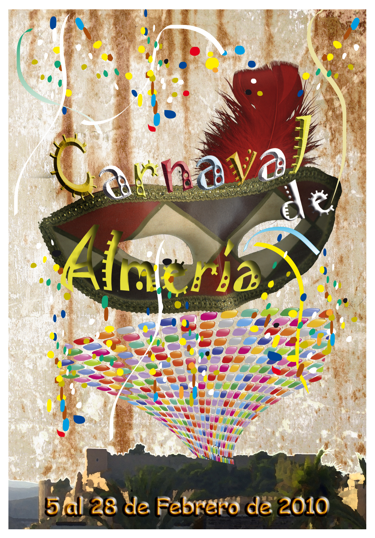 CArtel Para el concurso del carnaval de Almería