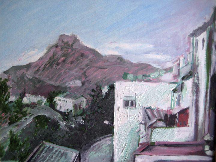 Boceto de El Castellón de Albanchez.