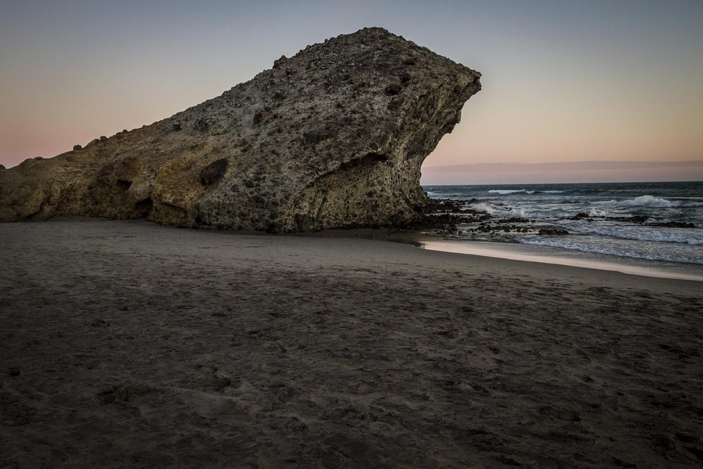 Playa de Mónsul en Cabo de Gata