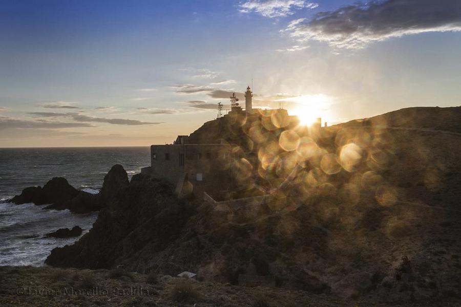 El Faro de Cabo de Gata, Almería.
