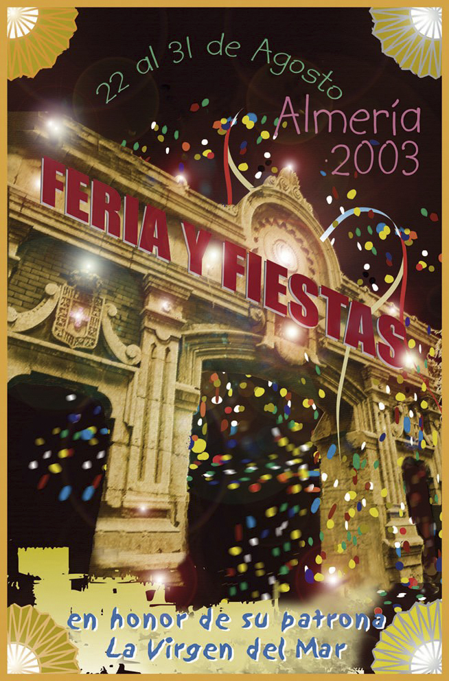 Cartel para concurso Feria 2003
