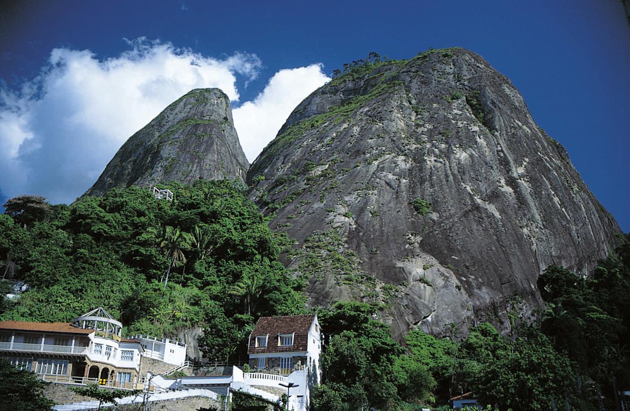 Los dos hermanos, Río de Janeiro, Brasil.