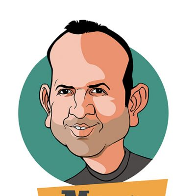 Morx caricature is © by Alejandro Ortega