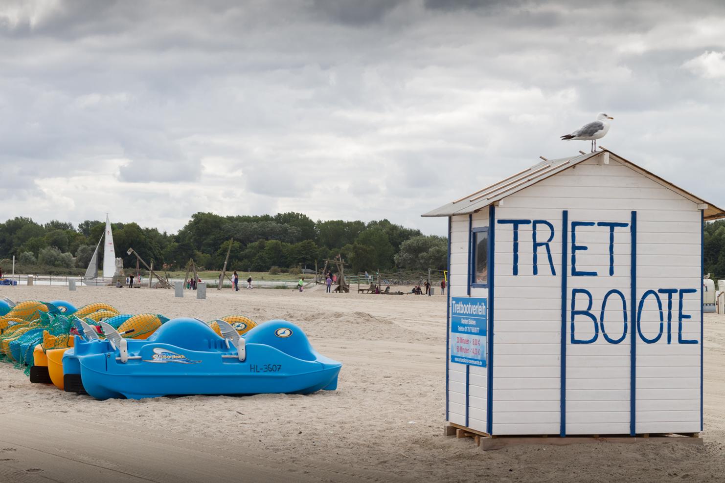 Playa de Lübeck, Alemania